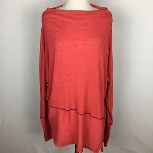 We The Free Londontown Ribbed Tunic Top Large